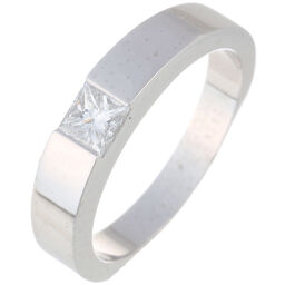 CARTIER Cartier Tank Diamond # 49 750 White Gold No. 9 Ladies Ring / Ring DH65079 [Used] A rank