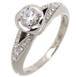 BVLGARI Bvlgari Pt950 0.18ct Diamond Incontro Damore Pt950 Platinum No. 7 Ladies Ring / Ring DH65145 [Used] A rank