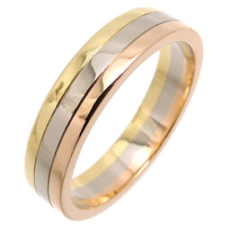 CARTIER Cartier 750 Three Color Gold # 60 Trinity Wedding 750 Yellow Gold x 750 Pink Gold x 750 White Gold No. 19.5 Men's Ring / Ring DH65155 [Used] AB Rank