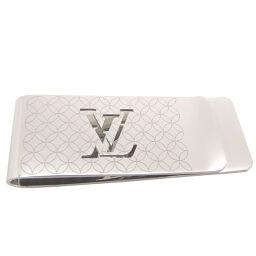 LOUIS VUITTON Louis Vuitton Pans Vie Champs Elysees Steel Men's Money Clip DH65170 [Used] AB Rank