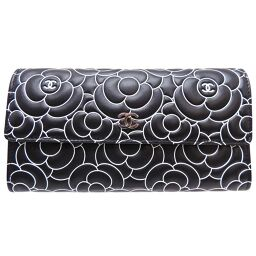 CHANEL Chanel Lambskin Ladies Wallet DH65175 [Used] A rank