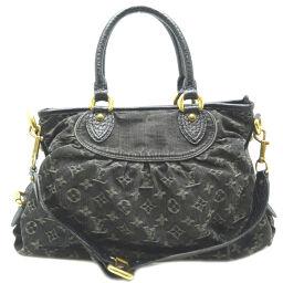 LOUIS VUITTON Louis Vuitton M95351 (discontinued) Neo Cavi MM Monogram Denim Women's Shoulder Bag DH65195 [Used] A rank