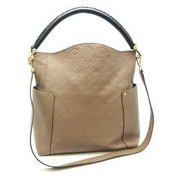 LOUIS VUITTON Louis Vuitton M50696 (Discontinued) Bagatelle Monogram Amplant Ladies Shoulder Bag DH65197 [Used] AB Rank