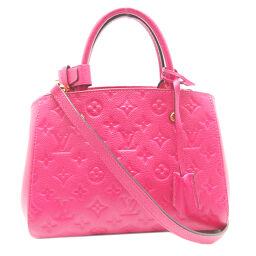 LOUIS VUITTON Louis Vuitton M50038 (discontinued color) Montagne BB Monogram Amplant Ladies Handbag DH65198 [Used] A rank