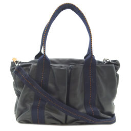 HERMES Hermes Caravan Horizontal MM Voderma Ladies Handbag DH65201 [Used] AB Rank