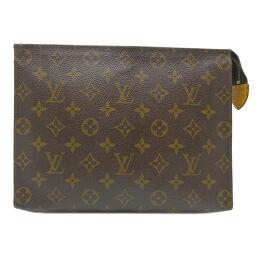 LOUIS VUITTON Louis Vuitton M47542 (discontinued) Posh Toilette 26 Monogram Canvas Women's Men's Second Bag DH65302 [Used]