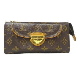 LOUIS VUITTON Louis Vuitton M61781 Portofeuil Astrid Monogram Canvas Women's Wallet DH65307 [Used]