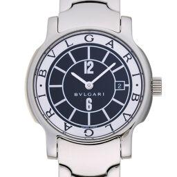 """<html lang=""""ja"""">    <body>   BVLGARI ブルガリ ST29S ソロテンポ ステンレススチール レディース 腕時計 DH65352【中古】Aランク        </body> </html>"""