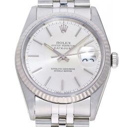 "<html lang=""ja"">    <body>   ROLEX ロレックス 16234 デイトジャスト X番 1991年製 ステンレススチール×K18ホワイトゴールド メンズ 腕時計 DH65357【中古】Aランク        </body> </html>"