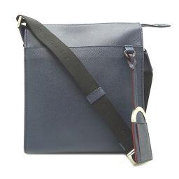 BVLGARI 39389 messenger bag calf ladies shoulder bag DH65404 [used] A rank