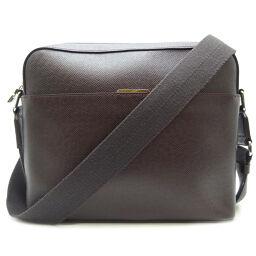 LOUIS VUITTON Louis Vuitton M34408 (discontinued) Anton Messenger PM Taiga Men's Shoulder Bag DH65405 [Used] A rank