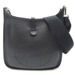 HERMES Hermes Evelyn 2 PM □ J engraved 2006 Taurillon Clemence Ladies Shoulder Bag DH65407 [Used] A rank