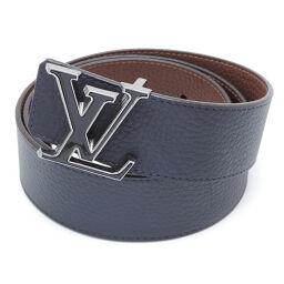 LOUIS VUITTON Louis Vuitton M0027V Saint Tulle LV Tilt Reverse 90/36 Taurillon x Metal Men's Belt DH65409 [Used] A rank