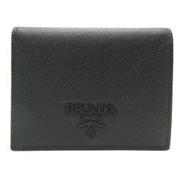 PRADA Prada 1MV204 Bi-Fold Wallet Saffiano Leather x SAFFIANO SHINE Ladies Bi-Fold Wallet DH65447 [Used] SA Rank