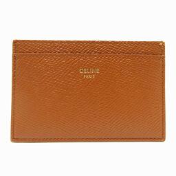 CELINE Celine Card Case Leather Women's / Men's Card Case DH65452 [Used] A rank