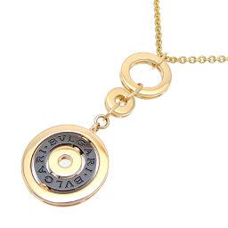 BVLGARI Bvlgari 750YG Astrale Cherki 750 Yellow Gold x Ceramic Women's Men's Necklace DH65495 [Used] A rank
