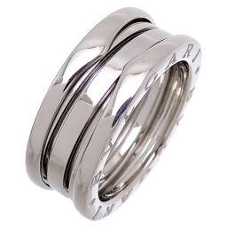 BVLGARI Bvlgari 750WG # 54 Bzero One 3 Band 750 White Gold No. 13 Women's Men's Rings / Rings DH65498 [Used] AB Rank