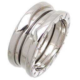 BVLGARI Bvlgari 750WG # 52 Bzero One 3 Band 750 White Gold No. 11.5 Ladies Ring / Ring DH65499 [Used] A rank