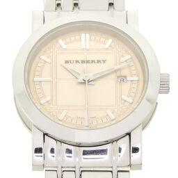 BURBERRY BU1353 Heritage Stainless Steel Ladies Watch DH65508 [Used] A rank