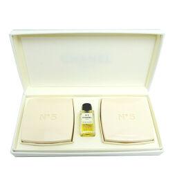 CHANEL No.5 Savon (soap) x 2 No.5 Eau de Toilette Set Ladies Other Set DH65634 [Used] S Rank
