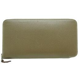 HERMES Hermes D time 2019 Azap Long Silk in Vaux Epson Ladies Wallet DH65642 [Used] AB rank