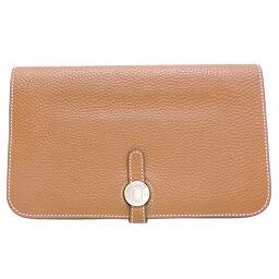 HERMES Hermes Dogon GM x Dogo Women's Men's Wallet DH65665 [Used]