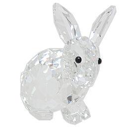 SWAROVSKI Swarovski Rabbit Crystal Women's Men's Object DH65674 [Used] A rank
