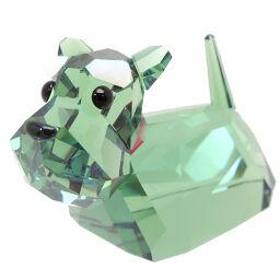 SWAROVSKI Swarovski Dog Crystal Women's Men's Object DH65675 [Used] A rank