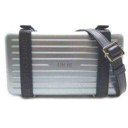 Dior ディオール 2DRCA295YWT パーソナル クラッチバッグ カーフ×アルミ レディース・メンズ ショルダーバッグ DH65816【中古】ABランク