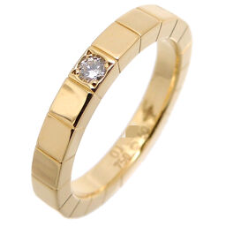 CARTIER Cartier 750YG # 50 Lanier Diamond 750 Yellow Gold No. 10 Ladies Ring / Ring DH65836 [Used] A rank