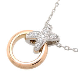 Chaumet Chaumet 750WG 750PG Lian de Chaumet Premierian 750 Pink Gold x 750 White Gold Women's Necklace DH65842 [Used] A rank