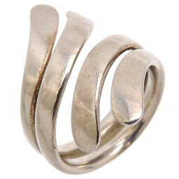 Georg Jensen A10 SV925 Silver Design Silver 925 No. 10 Ladies Ring / Ring DH65845 [Used] AB Rank