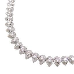 Non Brand Non Brand Pt900 3.02ct Diamond Pt900 Platinum Ladies Necklace DH65847 [Used] A rank