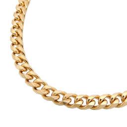 Non Brand Non Brand K18 50.1g 41cm 6 Sides Kihei K18 Gold Women's Men's Necklace DH65850 [Used] A Rank