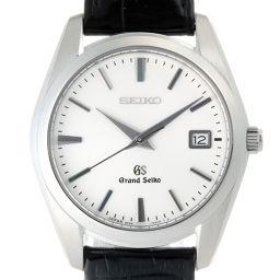 SEIKO セイコー 9F62-0AB0 (SBGX095) グランドセイコー ステンレススチール×レザー メンズ 腕時計 Dh49830【中古】ABランク
