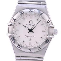 OMEGA オメガ コンステレーション 1562.30 ステンレススチール クオーツ レディース シルバー文字盤 腕時計【中古】A-ランク