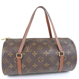 LOUIS VUITTON Louis Vuitton Papillon 26 M51386 Monogram Canvas Tea Ladies Handbag [Used]