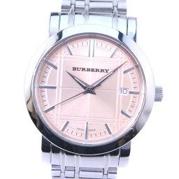BURBERRY バーバリー BU1352 ステンレススチール クオーツ メンズ シャンパンゴールド文字盤 腕時計【中古】