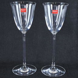 Baccarat Baccarat Wine Glass Pair Unisex Glass [Used] S Rank