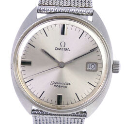 OMEGA Omega Seamaster Cosmic 136017SP-TOOL107 Stainless Steel Manual Winding Analog Display Men's Silver Dial Watch [Used]