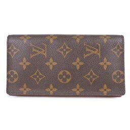 LOUIS VUITTON Louis Vuitton Porto Cult Credit Wallet with gusset M60825 Monogram Canvas Men's Long Wallet [Used] A-Rank