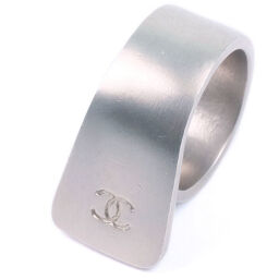 CHANEL Silver No. 13.5 Silver Ladies Ring / Ring [Used]