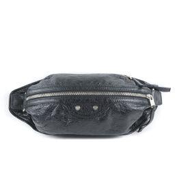 BALENCIAGA Neolift Bum Bag 341628 Leather Unisex Waist Bag [Used] A + Rank