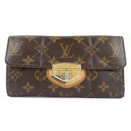 LOUIS VUITTON Louis Vuitton Portofeuil Sarah Etoile M66556 Monogram Canvas Brown SP2160 Engraved Women's Wallet [Used]