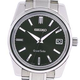 SEIKO セイコー ヒストリカルコレクション セルフデータ 900本限定 9F82-0AC0 SBGV011 ステンレススチール シルバー クオーツ アナログ表示 メンズ 黒文字盤 腕時計【中古】Aランク