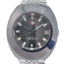 RADO Rado Eiger EIGER Stainless Steel Silver Automatic Men's Gray Dial Watch [Pre]