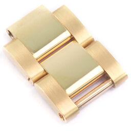ROLEX Rolex Daytona / Submariner 2 frames / 2Links 15.5mm 116528/116508/16618 K18 Yellow Gold Men's Watch [Used] A rank