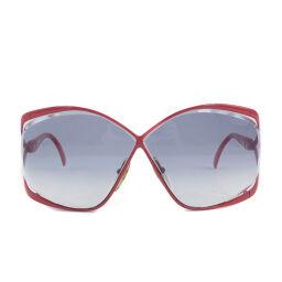 Dior Christian Dior Vintage 2056 30 Plastic Red 67 □ 03 Engraved Men's Sunglasses [Used]