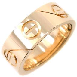 CARTIER カルティエ ラブリング シークレット K18イエローゴールド×ダイヤモンド 11号 レディース リング・指輪【中古】A+ランク