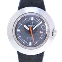 OMEGA オメガ DYNAMIC ダイナミック ステンレススチール シルバー 自動巻き レディース 黒文字盤 腕時計【中古】